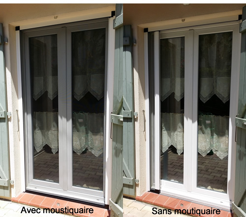 Moustiquaire Lat Rale R Tractable Installation Pose